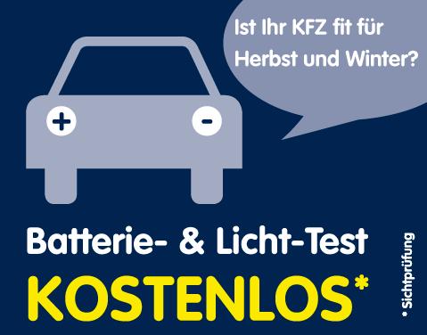 Kostenloser Lichttest im Autohaus Bustorf